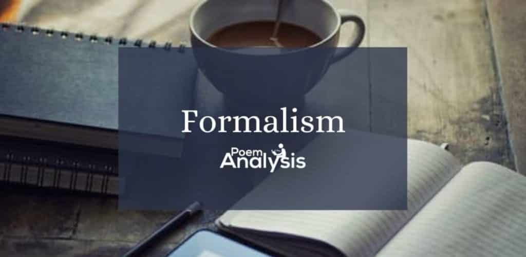 Formalism in literature definition and examples