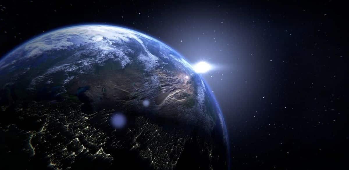 Earth by John Hall Wheelock Visual Representation
