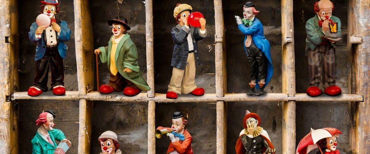 The Clown's Wife by John Agard Visual Representation